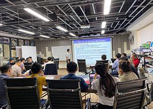 ICERT tư vấn, đào tạo ISO 45001:2018  tại Công ty CP thiết kế và xây dựng Giza Việt Nam