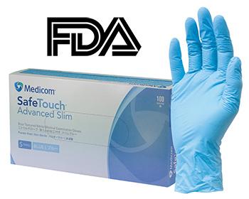 Chứng nhận FDA, Đăng ký FDA găng tay y tế khám bệnh, phẫu thuật; găng tay y tế Nitrile, Latex; găng tay y tế có bột, không bột để xuất khẩu sang Mỹ